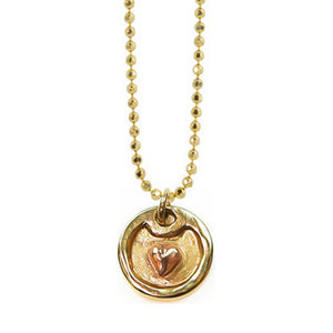 DOBA 14k Gold Dog Tag Necklace