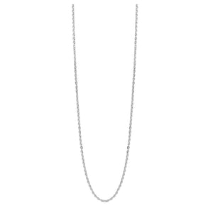 1.2mm 14k Gold Diamond Cut Rolo Chain