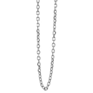 3.0mm 14k Gold Rolo Link Chain