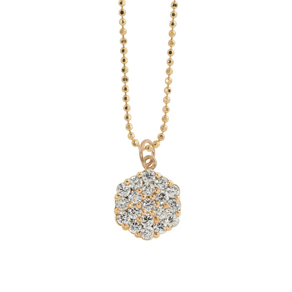 GAIL 14k Gold Diamond Charm