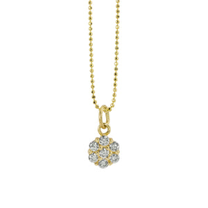 GALA 14k Gold Diamond Charm