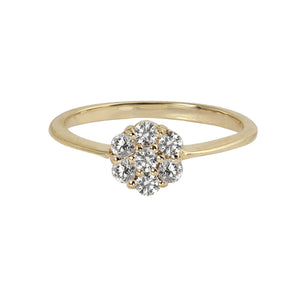 GALA 14k Gold Diamond Ring