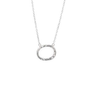 GOOZ 14k Gold Circle Necklace