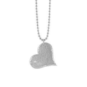 LANA 14k Large Gold Heart