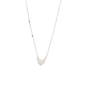 LAXA 14k Gold Heart Necklace