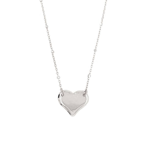 LAZA 14k Gold Heart Necklace