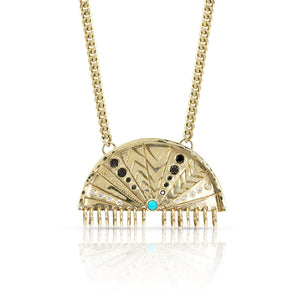 MDGE X-Large Half Circle Necklace