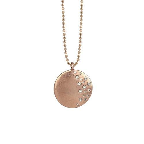 MINA Medium 14k Gold Pendant