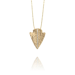 NOKI 14k Gold Arrowhead Necklace