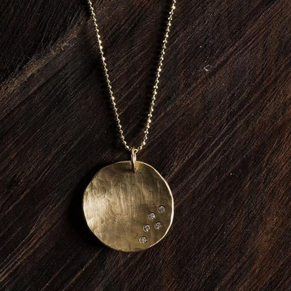 MEGG Large 14k Gold Necklace