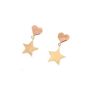 OALO 14k Gold Earrings