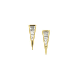 OCTA 14k Gold Diamond Earrings