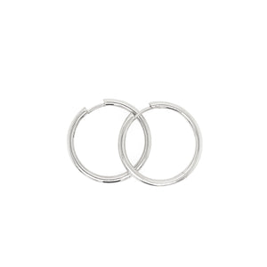 OLEG 14k Gold Hinged Hoops