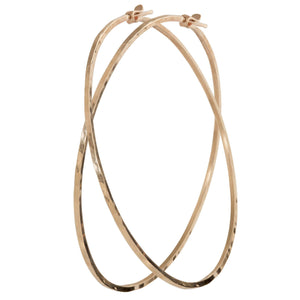 ORMS 14k Gold Hoop Earrings