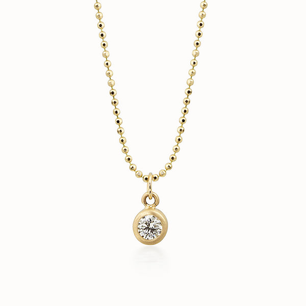 OTTO 14k Gold Diamond Charm