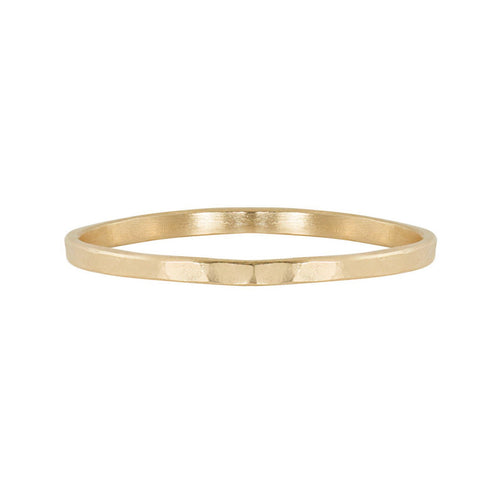 PREX 14k Gold Thin Stacker Band