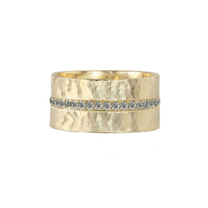 RANI 14k Gold Diamond Ring