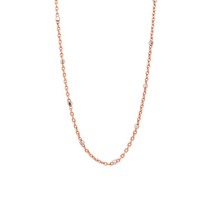 1.0mm 14k Gold Rolo Bead Chain