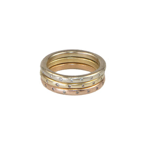 REBA 14k Gold Stacker Ring