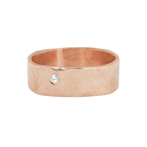 REFE 14k Gold Square Ring