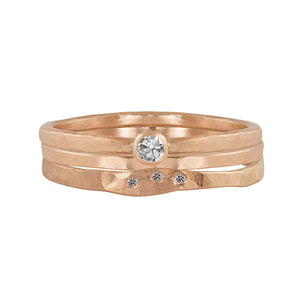 RELA 14k Gold Diamond Ring