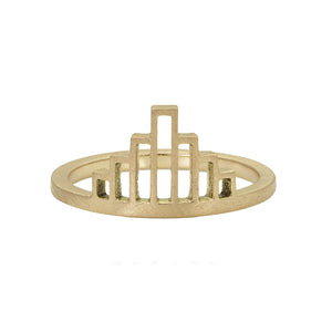 REMM 14k Gold Art Deco Ring
