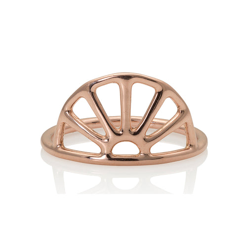 REMS 14k Gold Sunshine Ring