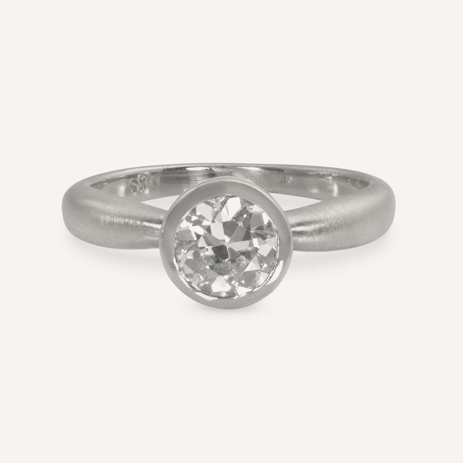 RIXI Gold Solitaire Ring