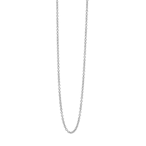1.0mm 14k Gold Rolo Link Chain