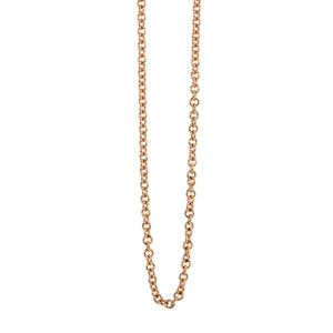 2.0mm 14k Gold Rolo Link Chain