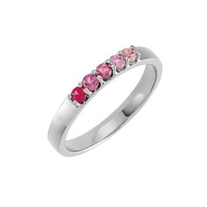 ROMM 14k Gold Pink Gemstone Ring