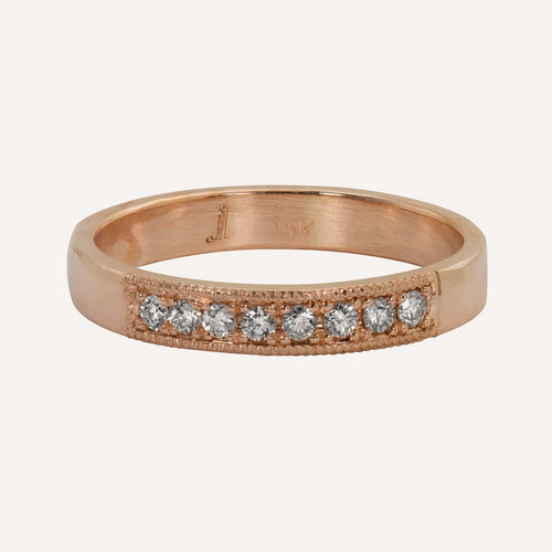 RUMA 14k Gold Band