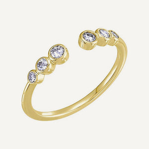 RAME 14k Gold Negative Space Ring