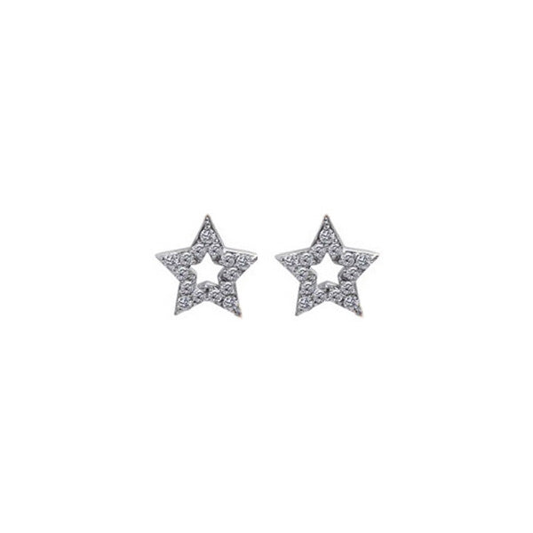 STAR Diamond Charms for Hoops