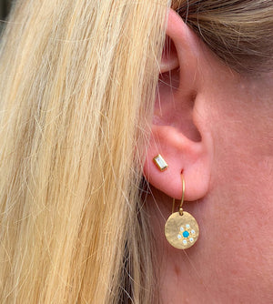 NEW! SKYE Baby 14k Gold Earrings
