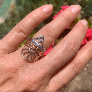 REMA 14k Gold Triangle Ring