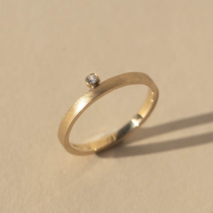GELD 14k Gold Stacker Ring