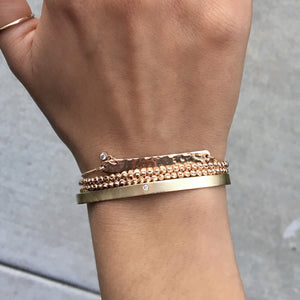 MOCA 14k Gold Double Wrap Bracelet