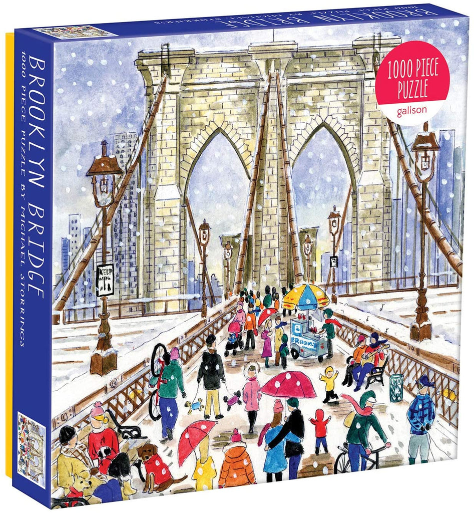 Storrings 1000 Piece Brooklyn Bridge Puzzle