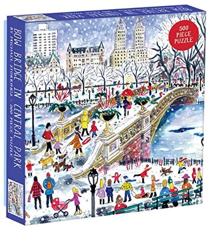 Storrings 500 Piece Bow Bridge Central Park Puzzle