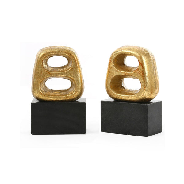 Delphi Bookends, Gold