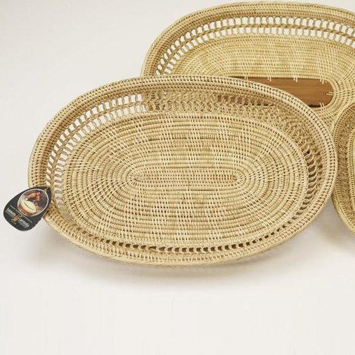 Deluxe Oval Serving Tray
