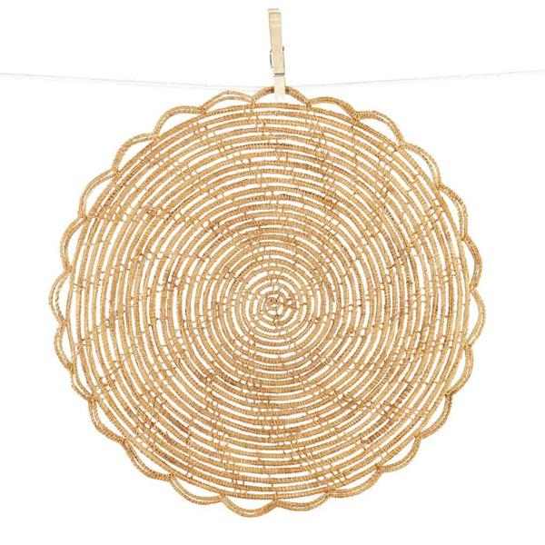 Bamboo Cane Placemats-Set of 4