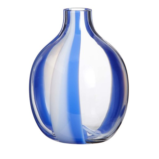 Singleflower Blue Stripe Vase