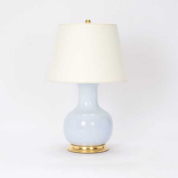 Medium William Lamp w/ Vellum Paper Shade