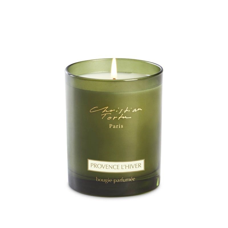 Provence Winter Candle
