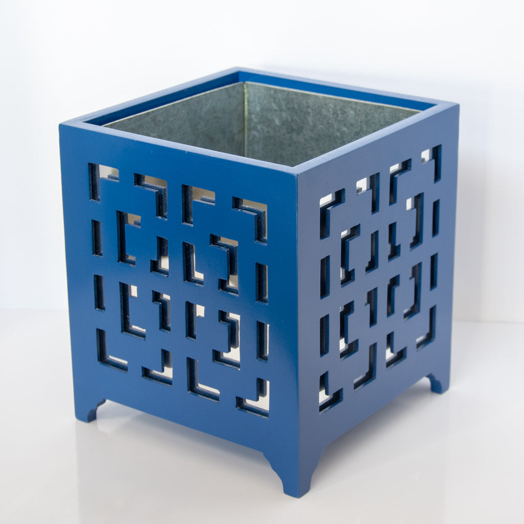Libby Blue Planter