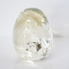 Ameer Clear Crackled Acrylic Object -Small