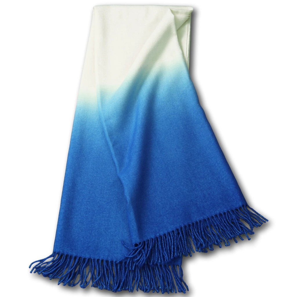 Dip-Dyed Alpaca Throw