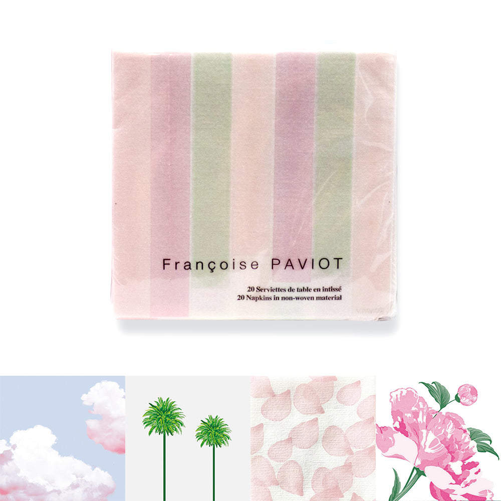 Francoise Paviot Cocktail Napkins